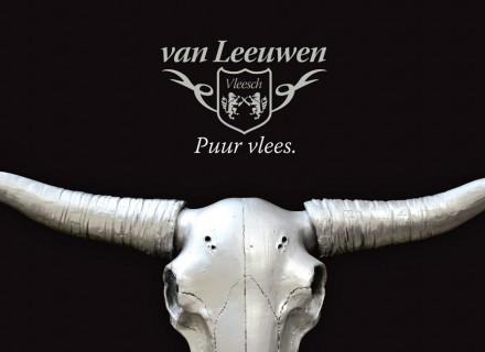 van leeuwen vleesch logo en brochure